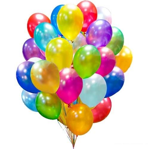 50 воздушных шаров фото